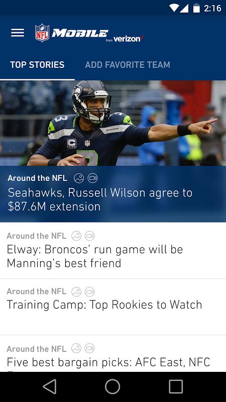 NFL screenshot 1