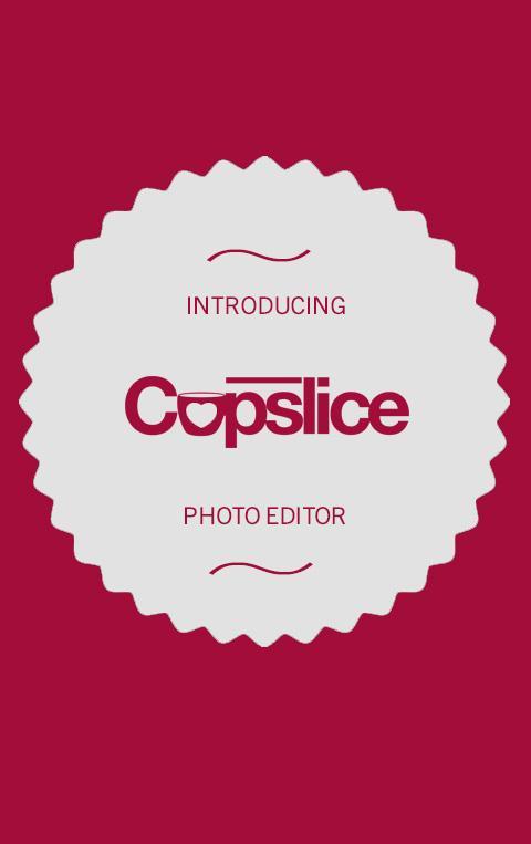 Cupslice Photo Editor screenshot 1