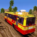 Offroad Coach Simulator : Offroad Bus Games 2021