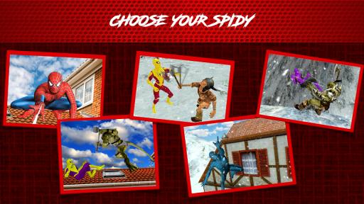 Super Spider Hero: Amazing Spider Super Hero Time screenshot 5