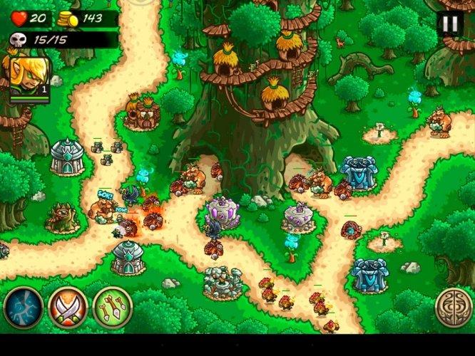 Kingdom Rush Origins screenshot 1