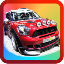 Kids Rally Car Racing