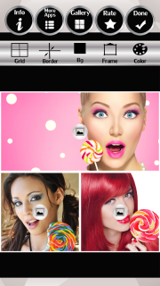 Lollipop Photo Collage screenshot 3