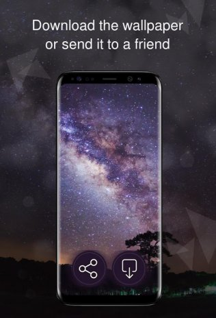 Night Sky Stars Wallpapers 4k 1 0 10 Download Apk For