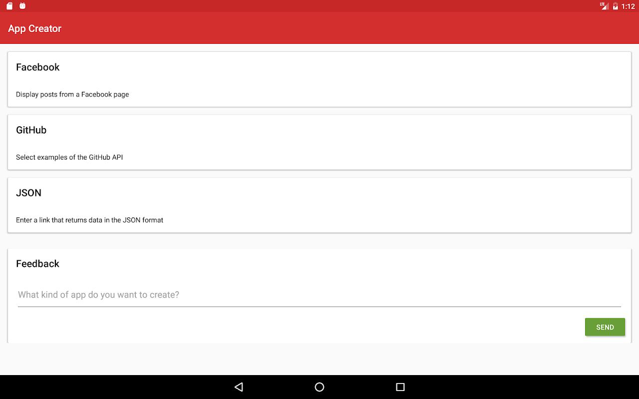 App Creator screenshot 7