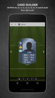 FUT Card Builder 18 screenshot 2
