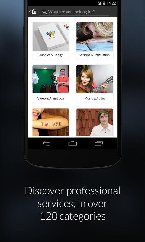 Fiverr - Freelance Services screenshot 2