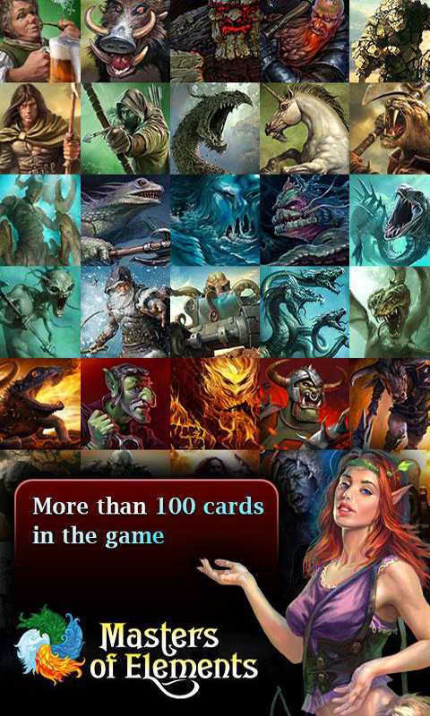Masters of Elements - collectible card game screenshot 2