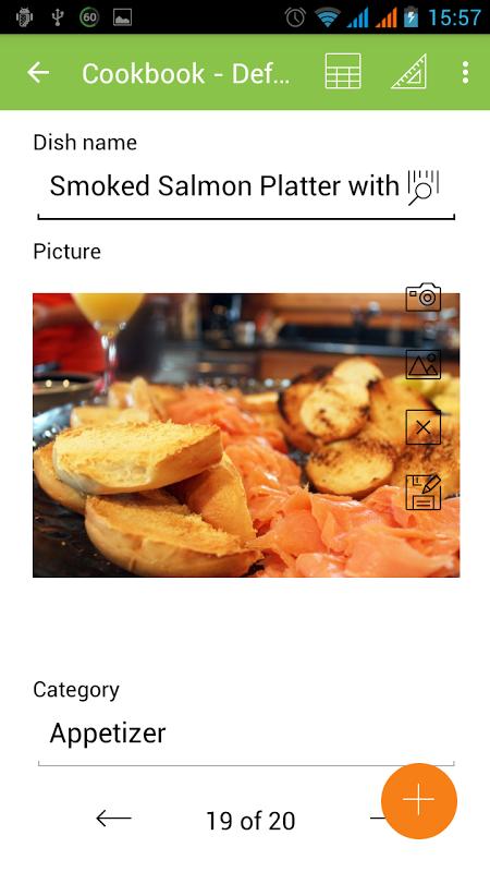 MobiDB Recipes screenshot 2
