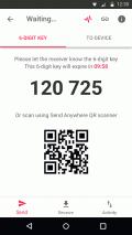 Send Anywhere (File Transfer) Screenshot