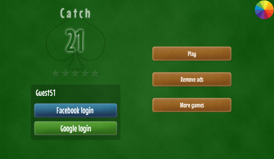 catch 21 card game free