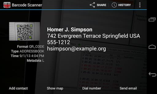QR Barcode Reader Scanner screenshot 3