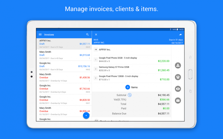 Invoice Maker Tiny Invoice Download APK For Android Aptoide - Invoice maker android