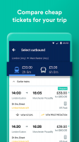 Trainline - Train and Coach Tickets Screen