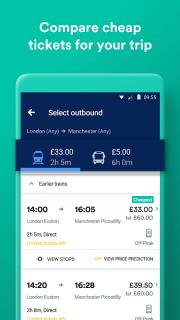 Trainline - Train and Coach Tickets screenshot 1