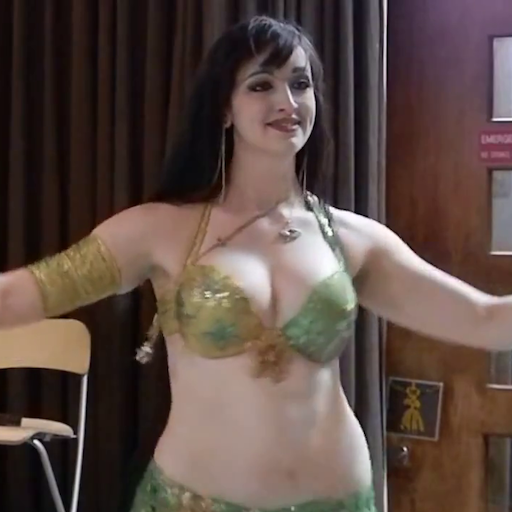 Sexy belly dance video