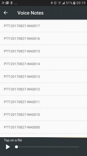 Ninja en Whatsapp screenshot 4