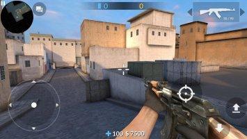 Critical Strike CS: Counter Terrorist Online FPS Screen