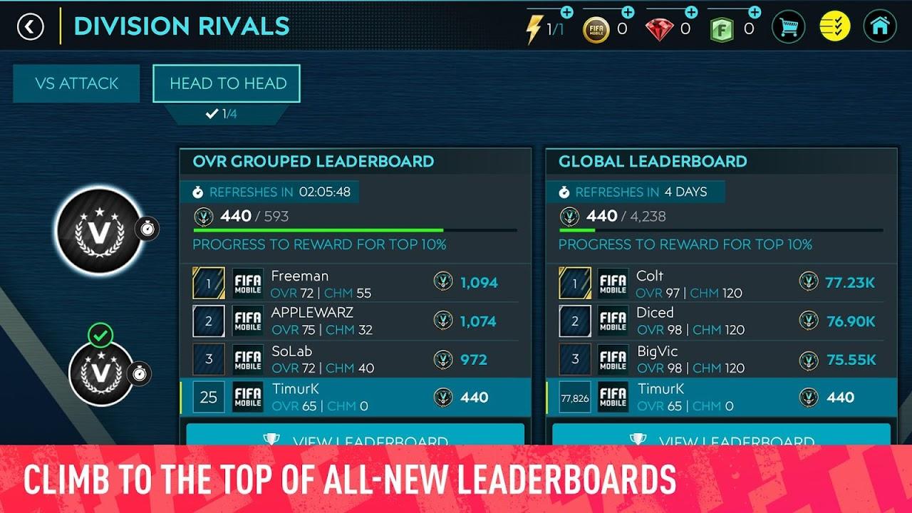 FIFA Mobile Football screenshot 2