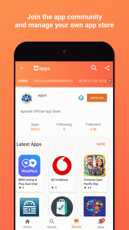 Aptoide installer download