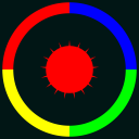 Color Shoot Tap To Hit Circle With Jumping Ball