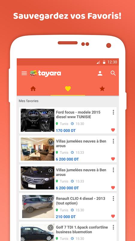 tayara.tn pour iphone