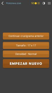 Crosswords - Spanish version (Crucigramas) screenshot 5