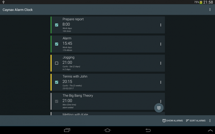 Alarm clock PRO 9 5 1 PRO (Android 6+) Download APK for