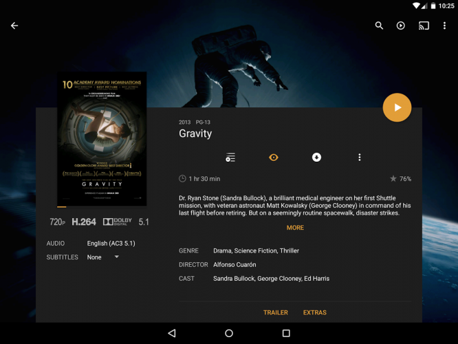 Plex: Stream Movies, Shows, Music, and other Media screenshot 2