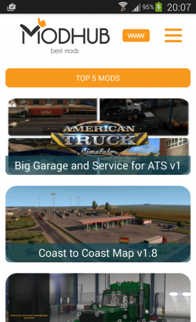 American truck simulator mods 1 0 2 Download APK for Android
