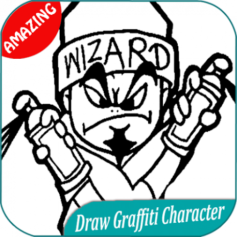 300 How To Draw Graffiti Character 1 0 Download Apk For Android