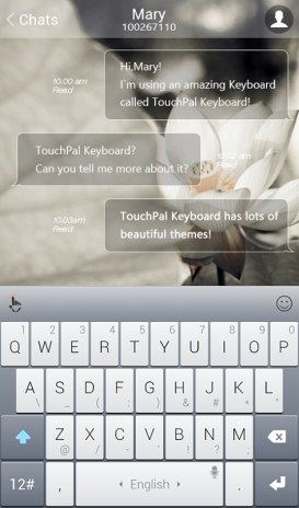 iPhone TouchPal Theme 6 5 23 120333 Download APK for Android