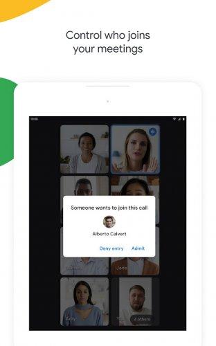 Google Meet screenshot 15