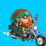 Motor Bike - Motorcycle riding Icon