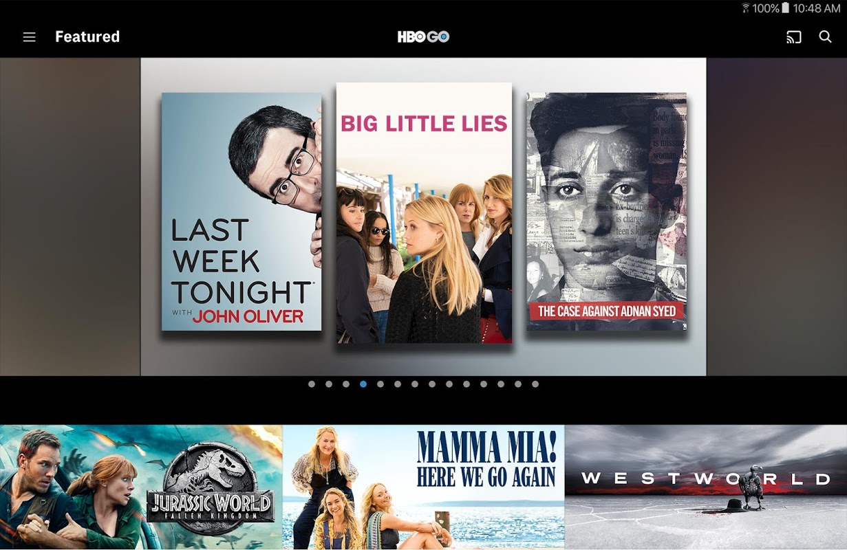 HBO GO: Stream with TV Package screenshot 1