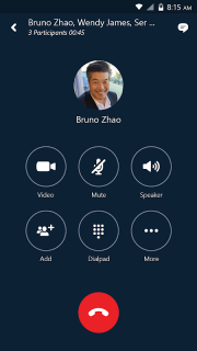 Skype for Business for Android screenshot 1