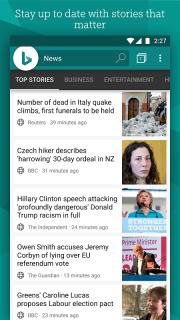Bing Search screenshot 2