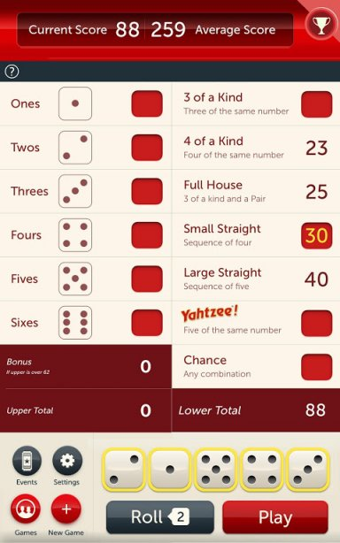 free yahtzee download for android