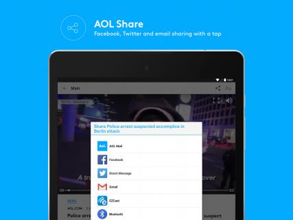 AOL: Mail, News & Video screenshot 1