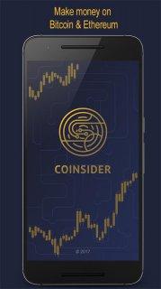 CoiNsider. Bitcoin /Altcoin Analysis Portfolio App screenshot 1
