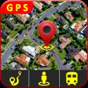 GPS Abitare cartina direzione e vista stradale