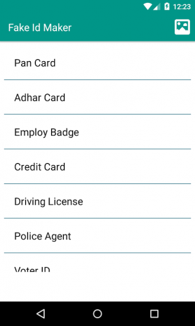 Fake ID card Auto Generator 1 0 Download APK for Android
