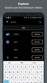 Tokens - Ethereum Portfolio Tracker & ICO News screenshot 6