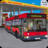 Gas Station Public Transport Simulator Icon