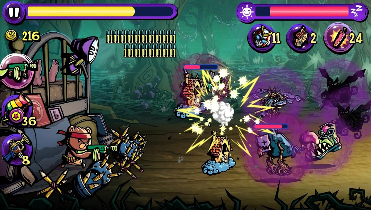 Dream Defense screenshot 1