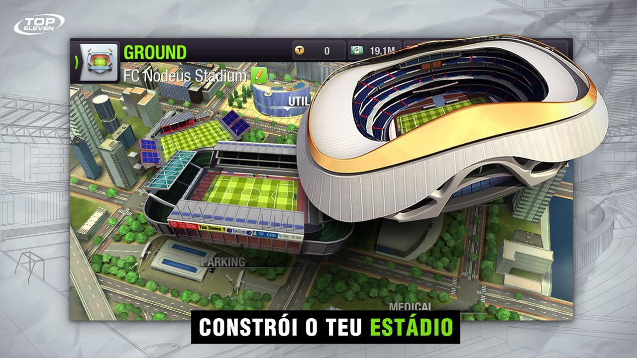 Top Eleven 2019 - Sê Um Treinador de Futebol screenshot 1