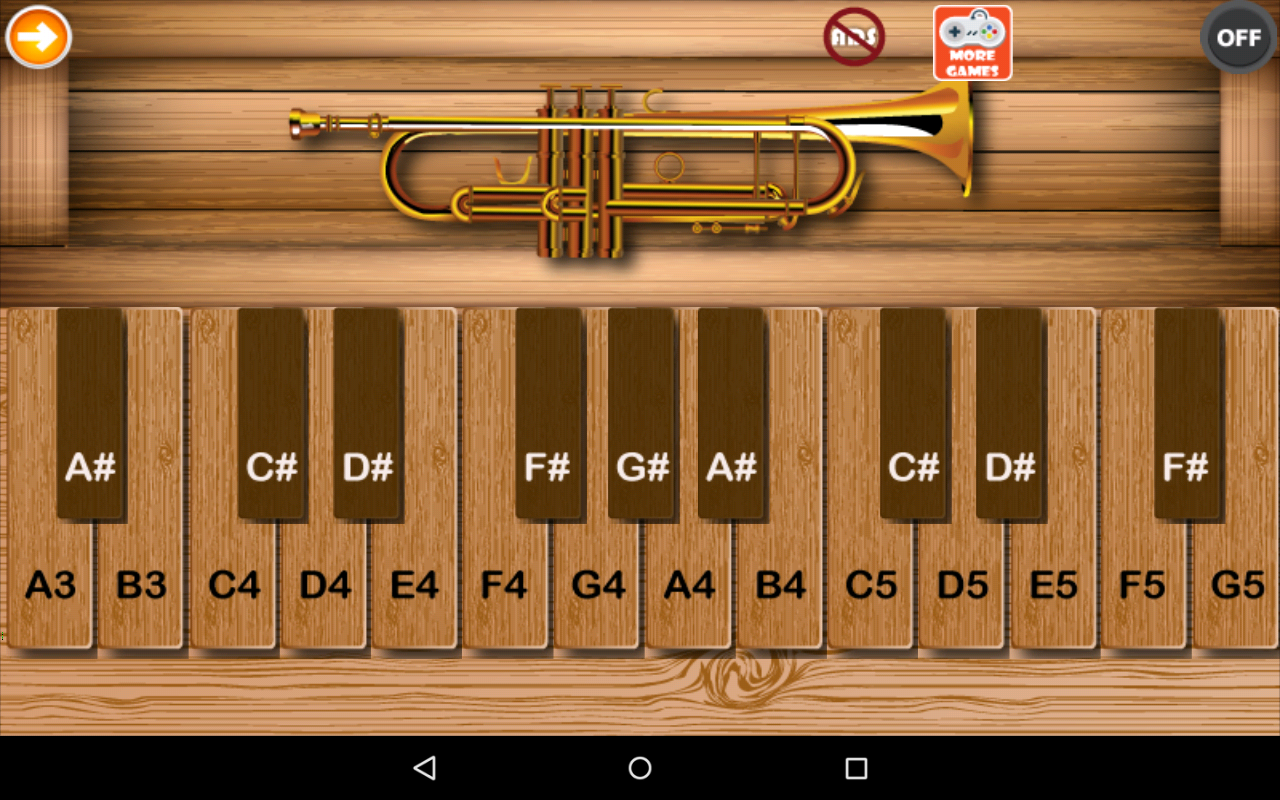 Professional Trumpet screenshot 1