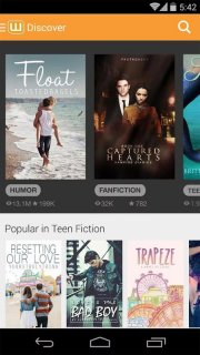 Wattpad Beta screenshot 1