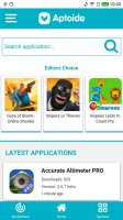 Aptoide Lite Screen