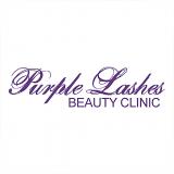 Purple Lashes Icon